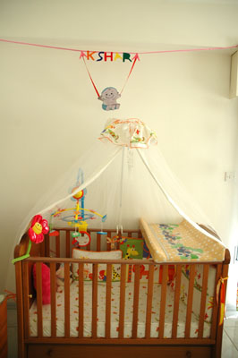Baby Cot Decoration