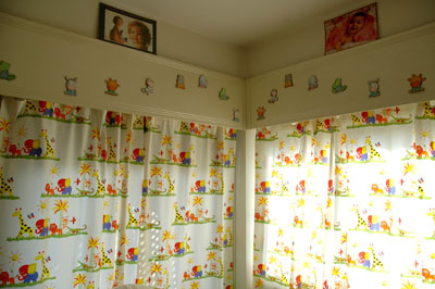 Jungle Theme Curtains