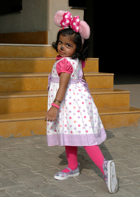 Fancy Dress Minnie Mouse