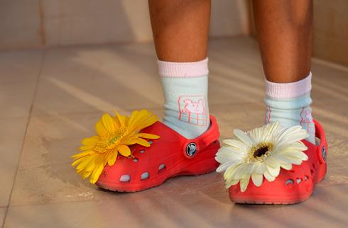 fancy dress flower girl costume