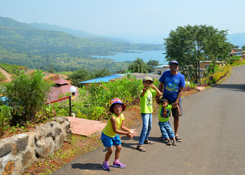 weekend fun at mantra hill resort