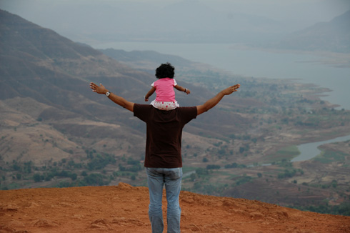 Enjoying the Nature at Mahabaleshwar