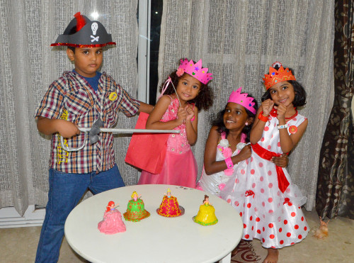 princess and pirate themed birthday party