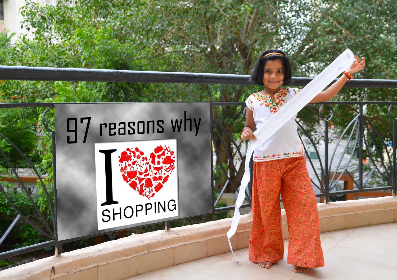kids love shopping