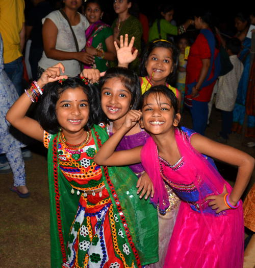 Dandiya fun with friends